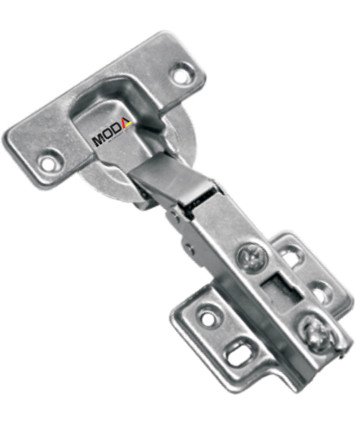 THICK DOOR SLIDE ON HINGE With Mounting Plate For Door Thickness 25-32 mm