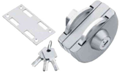 Glass to Wall Lock