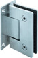 Wall to Glass 90° Shower Hinge - 2 SP