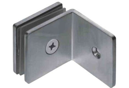 Bracket for 90° Wall to Glass connector