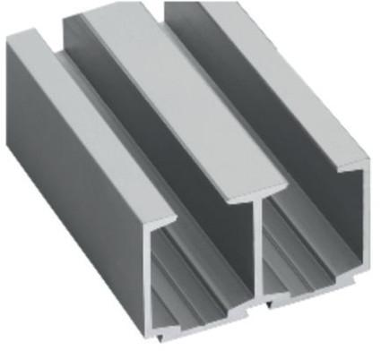 Aluminium Double Sliding Track - MGST-103