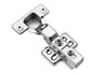 Economy Series Slow Motion Hinge With Four Hole Mounting Plate For Door Thickness 16 -19 Mm