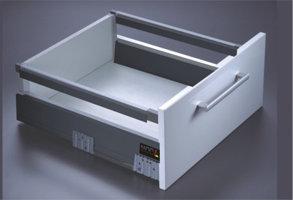 MAGIC BOX WITH SINGLE RAIL - 185 mm Height
