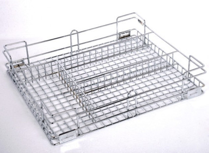 Cutlery Wire Basket Stainless Steel