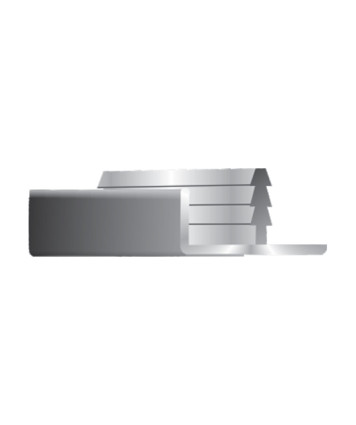 F-Profile 19mm Door - Edge Profile