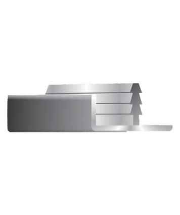 F-Profile 22mm Door - Edge Profile
