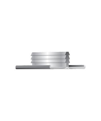 Thick Door Edge Profile - 22mm door