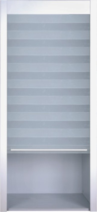 FROSTED GLASS ROLLING SHUTTER