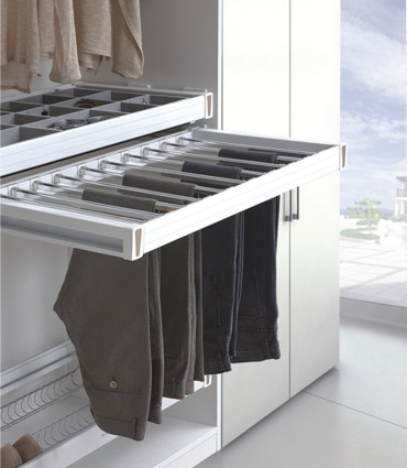 Trouser and Saree Rack Pull out Soft close