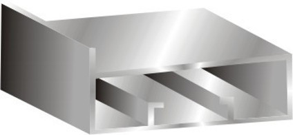 Stick Profile 45mm-5mm Glass