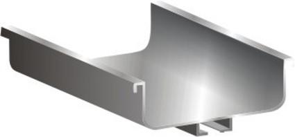 C-Shaped Horizontal Gola Profile