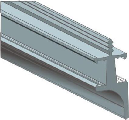 Wall Unit Gola Profile with PVC Strip
