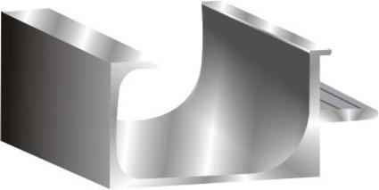 35 mm G-Handle Economical Profile 19mm door