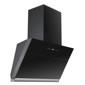 MODA Germany Kitchen Chimney With Gesture Control Black Hood & Black Glass - LUXOR 60